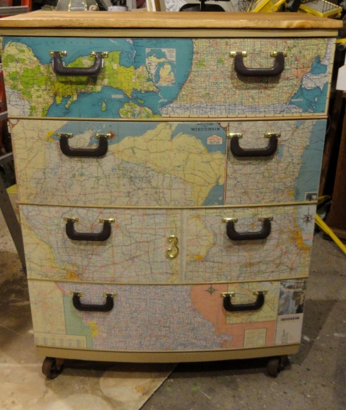 "A ""well traveled"" dresser!"