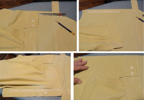 creating the pockets-