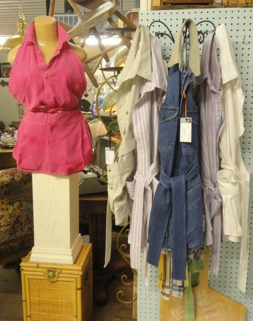 shirt aprons-