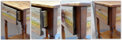 making a drawer box and custom face--
