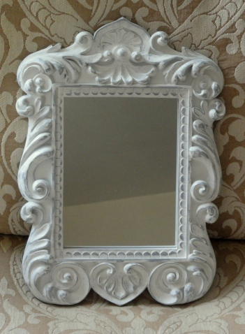 a small accent mirror--