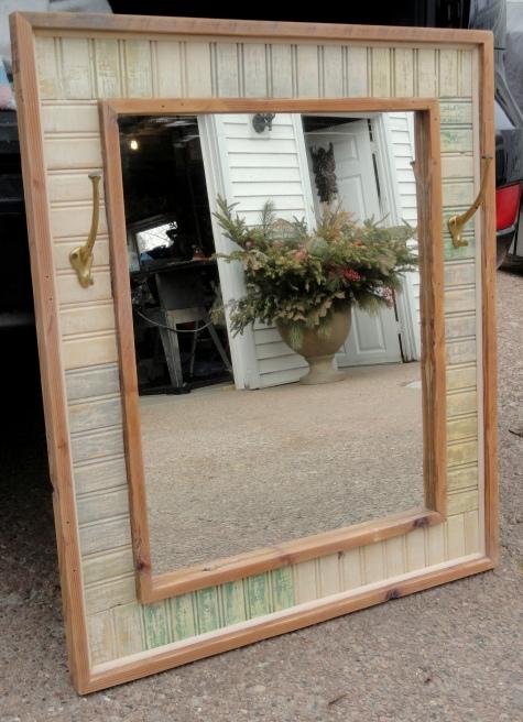 my Scrap Wood Mirror!