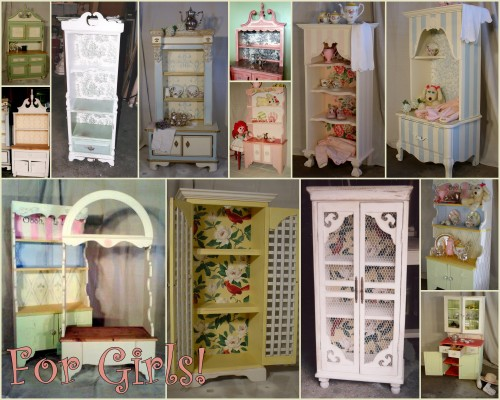 Heirloom cabinets for Girls