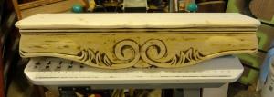 the SOFA APRON shelf