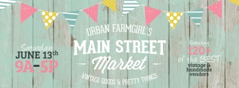 Main St Market show-- June 13th