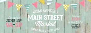 Main St Market show-- June 13th