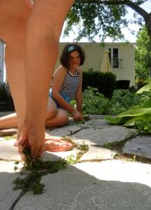 weeding--what fun!