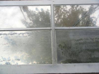 silvering a window--