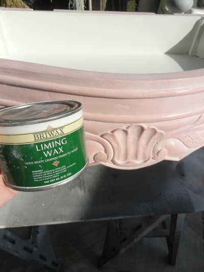 using a liming wax--