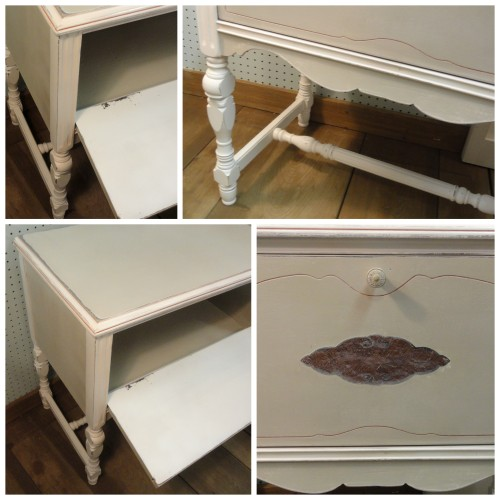 a few details of THE CURBIE Cabinet