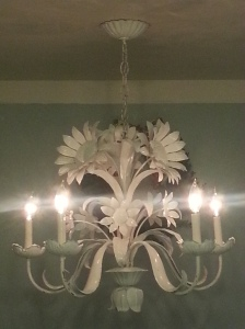"The ""new"" chandelier!"