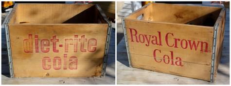 vintage soda crate-