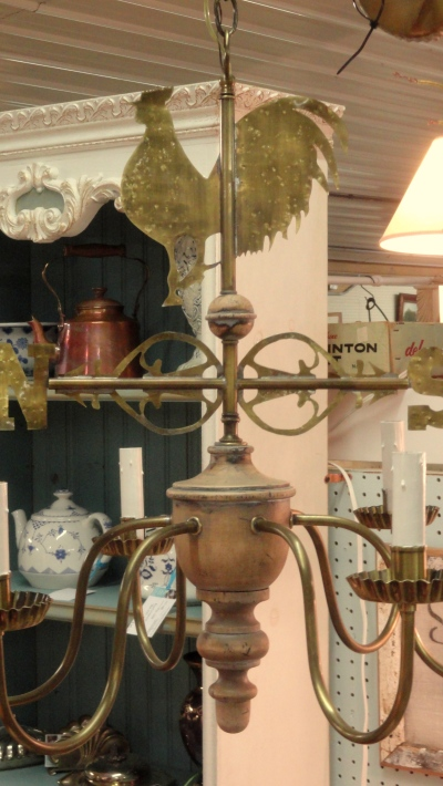 the Weathervane Chandelier