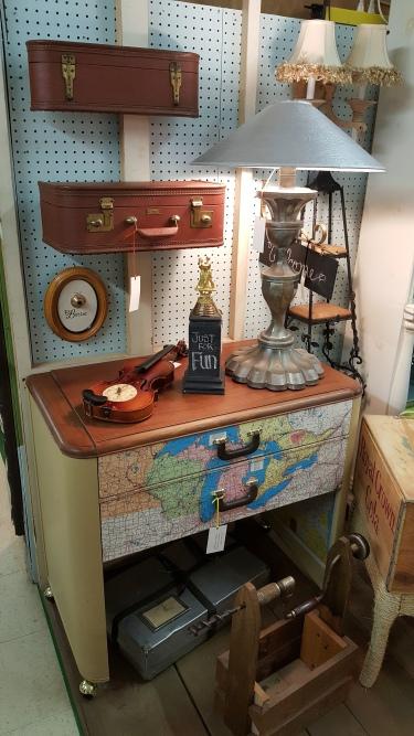 a Vintage Dresser makeover