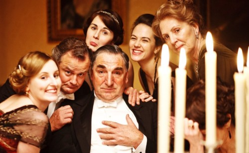 the end of Downton Abbey