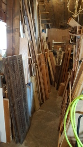 some of my wood and mill work supplies--