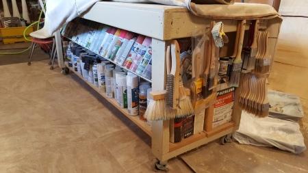 my work bench~storage bench