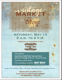 Vintage Market at The Grove!