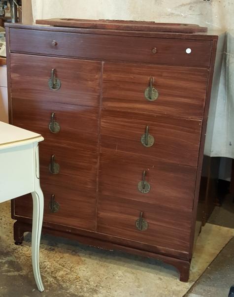Charity yard sale dresser-- $15