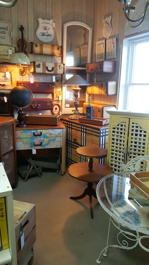 My newest antique mall space!