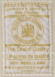 Hudson's Bay label
