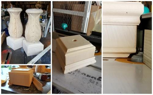 building a plinth box~