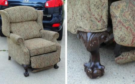 curbie chair LEGS!