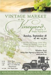 Vintage Mrkt at the Vineyard