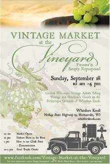 Vintage Mrkt at the Vineyard