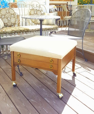 """A quick """"ottoman"""" project!"""