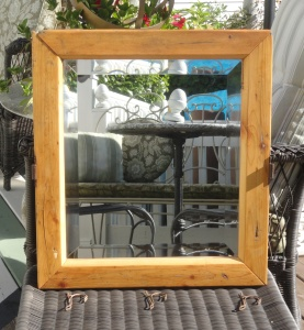 REframing a vintage mirror