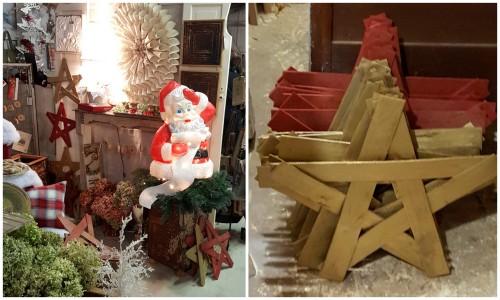 my wood lath stars!