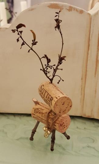 my wine cork Reindeer!