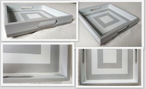 a TRAY makeover & FAIL