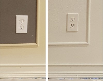 to paint the outlet covers or not?