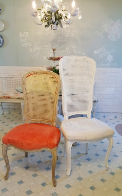 the breakfast chair makeover