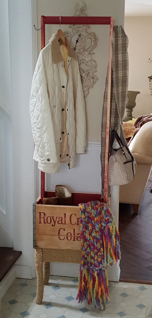 the vintage soda crate MAKEOVER!