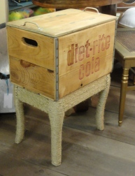 the vintage soda crate