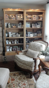 the 2nd life of the Shaker bookcases