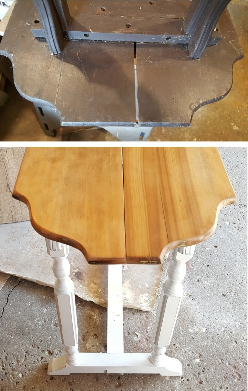 the HALL TABLE~correction