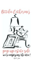 OTTILIA CATHERINE's pop up sale
