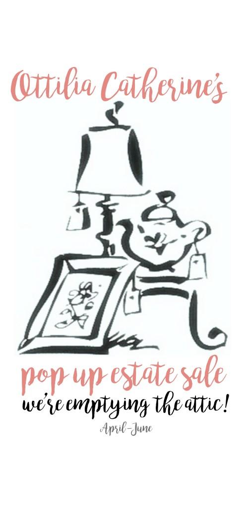 OTTILIA CATHERINE's pop up sale