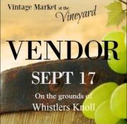 Vintage Market at the Vineyard!