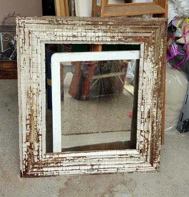 antique door & window casing!