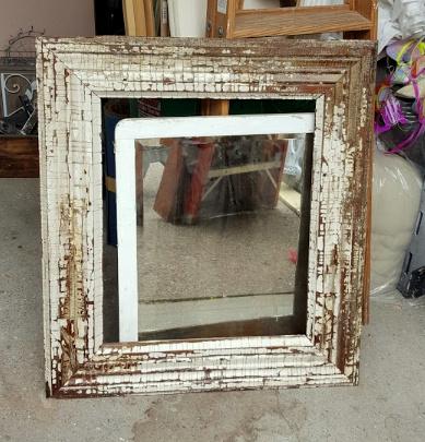 antique door & window casing!