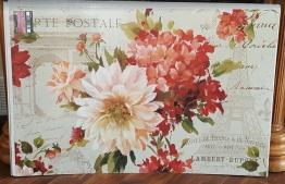 floral poster