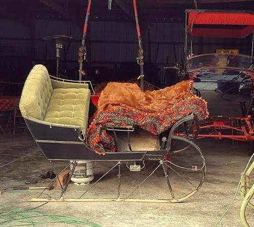 a cutter sleigh--