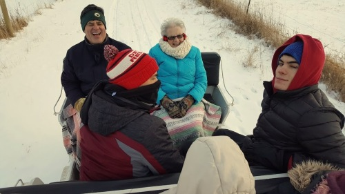 2018 Family Sleigh Ride