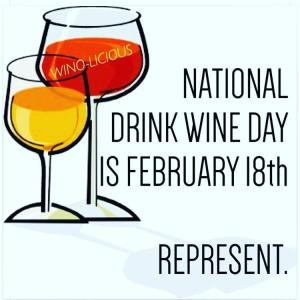 Nat'l Drink Wine Day