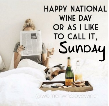 Nat'l Drink Wine Day